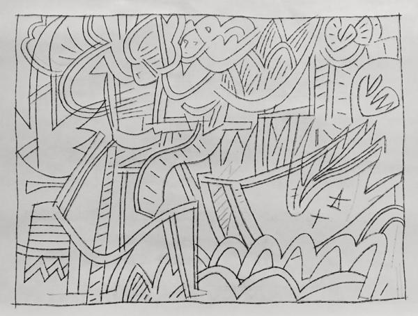 Έκθεση τέχνης «Στα όρια της γραμμής» του Αχιλλέα Παπακώστα