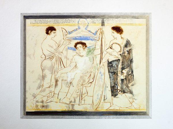 Εγκαίνια έκθεσης τέχνης – Γιάννης Κεφαλληνός: Δέκα λευκαί λήκυθοι του Μουσείου Αθηνών, στο Καφέ του Μουσείου
