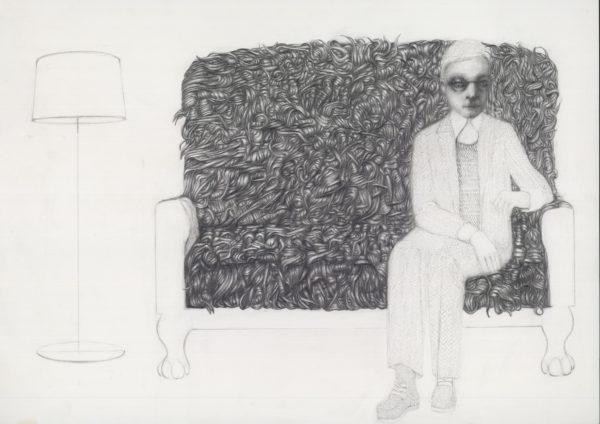"""Έκθεση σχεδίων """"Εργόχειρα"""" της Ελένης Γλύνη  στο Καφέ του Μουσείου"""