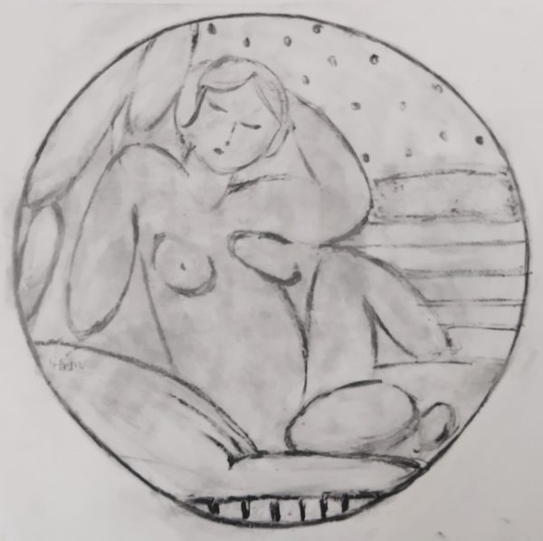 Έκθεση σχεδίων «Οδαλίσκη» του Γιώργη Βραχνού στο Καφέ του Μουσείου