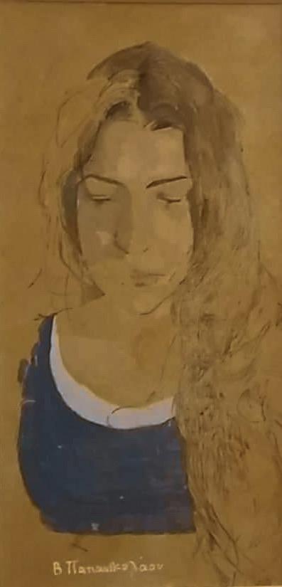 Έκθεση εικαστικών    Ζωγραφικό επίγραμμα του Βασίλη Παπανικολάου στο Καφέ του Μουσείου